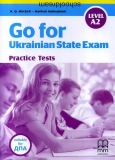 Go for Ukrainian State Exam (level A2) підготовка ДПА Mitchell - Macmillan -